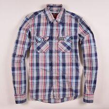 Superdry Herren Hemd Shirt Gr.L  Mehrfarbig, 52523
