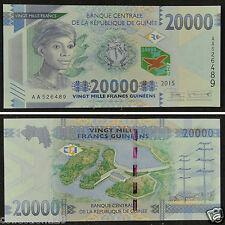 AFRICA GUINEA 20000 FRANCS Banknote 2015 UNC