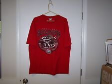 TAMPA BAY BUCCANEERS RED T-SHIRT 2003 SUPERBOWL XXXVII  X-LARGE