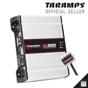 Taramps HD 3000 1 Ohm Amplifier 3K Full Range Compact Car Amp - 3 Day Delivery