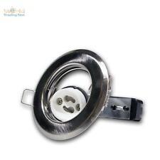 5x GU10 Spot Encastré Châssis De Montage MAT Luminaire à encastrer GU 10 230V