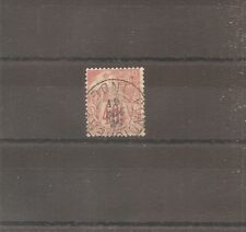 TIMBRE INDE FRENCH OFFICE COLONIE GENERALE 1881 N°54 OBLITERE USED PONDICHERY