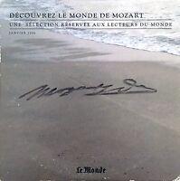 Mozart CD Découvrez Le Monde De Mozart - Une Sélection Réservée Aux