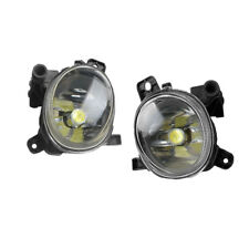 Pair Front LED Fog Light Foglight W/ Bulb For AUDI A1 A4 B8 Wagen 08-12 A5 08-11