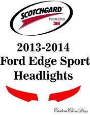 3M Scotchgard Paint Protection Film Pre-Cut Headlights 2013 2014 Ford Edge Sport