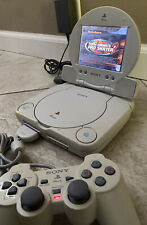 Sony PSOne PS1 White Console SCPH-101 & LCD Screen SCPH-131 w/ Bonus Game THPS2