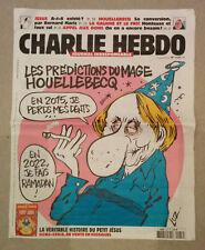 CHARLIE HEBDO french magazine  very rare No 1177 day of the attack