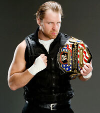 DEAN AMBROSE WITH BELT 8X10 PHOTO WRESTLING PICTURE WWE