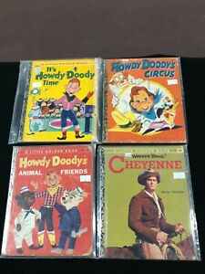 Howdy Doody Lone Ranger Fury Western 1960's Little Golden Book Lot x15 (Lot 7)