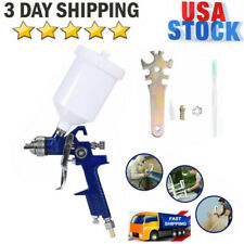 Air Spray Gun HVLP Auto Car Touch Up Paint Sprayer Repair 1.4MM Nozzle+Wrench