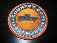 COUNTRY BOY BREWING cougar bait shotgun wedding PATCH iron on craft beer brewery