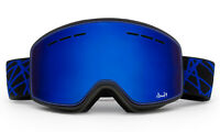 Mens Womens Ski Snowboard Goggles Double Lens Anti-fog Skiing Winter Snow Blue