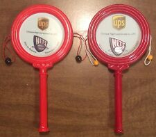 2003 Lot of 2 NJ Nets SGA Drums Noisemakers Toms Chinese Night vs Rockets RARE!!