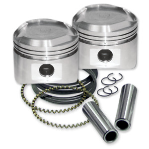 S&S Cycle Standard Bore Super Stock Cylinder Heads Pistons Kit Harley Evo 84-99