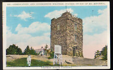 Western North Carolina Nc 1930 Observatory Weather Station Mt. Mitchell Postcard