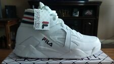 FILA THE CAGE WHITE BASKETBALL SHOES SIZE 13
