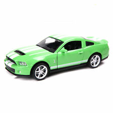 Mustang GT500 Ford Model Car1:32 Sound&Light Alloy Diecast Collection Toy Green
