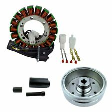 Kit Flywheel + Puller + Stator For Suzuki LTA / LTF 400 Eiger 2002 2003 2004