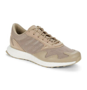Adidas Men's Taupe Y-3 Rhisu Running Shoes $330