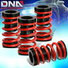 """FOR 01-05 CIVIC EM2 ES 1-3""""SCALED SUSPENSION LOWERING COILOVER RED COIL SPRINGS"""