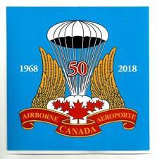 Canadian Airborne Decal - Canadian Airborne Regt 50th Anniversary Design