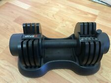 ATIVAFIT Adjustable Dumbbell 27.5 lbs Weight Set for Gym Home (Single) Fast Ship