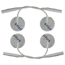 4 Elektroden-Pads, 25mm klein. Für Gesicht / Elektro-Akupunktur, EMS TENS Gerät