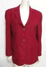 Loro Piana Red 100% Camel hair Sfi Femme Blazer Jacket Sz 8 Women M Nordstrom