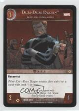 2008 VS System Marvel Universe Booster Pack Base #MUN-092 Dum-Dum Dugan Card 3v2
