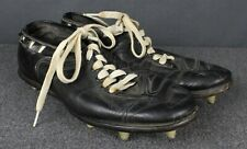 Vintage 40's-50's Leather Adjustable Ankle Football Cleats Size 9 Rare