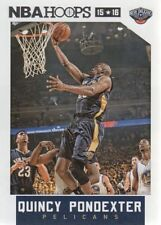 2015-16 Panini NBA Hoops #8 Quincy Pondexter New Orleans Pelicans NM Single