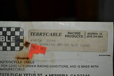 "NOS Terrycable Yamaha Throttle ""Whirlpull"" Cable #3384 88'-91 Warrior/Warrior ER"