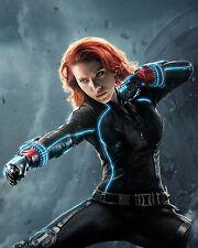 Marvels Avenger Black Widow Scarlett Johansson Poster and Wall Decor 16x20