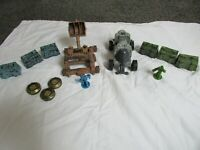 Battleground Crossbows & and Catapults Knights Battering Ram vs Orc catapult