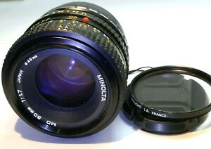 Minolta 50mm f1.7 Lens Manual Focus adapted to Fuji FX mount Fujifilm T100 T200