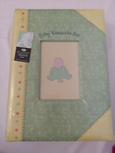 Boots Baby Keepsake Box Photo Frame In Lid