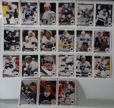 1990-91 Upper Deck UD Los Angeles Kings Team Set of 21 Hockey Cards