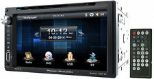 "POWER ACOUSTIK PD-651B DOUBLE DIN DVD/CD PLAYER 6.5"" TOUCHSCREEN USB BLUETOOTH"