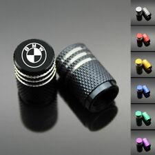 4PCS Chrome Car Wheel Tyre Tire Air Valve Caps Stem Cover With BMW Emblem