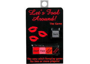 Lets Fool Around | Sex Dice Game for Two or More Players