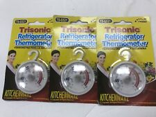 3 Pack -  Refrigerator Thermometer , Free Shipping