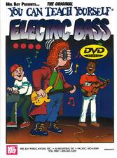 Mel Bay You Can Teach Yourself Electric Bass Book & Dvd