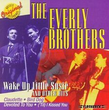 FREE US SHIP. on ANY 3+ CDs! NEW CD The Everly Brothers: Wake Up Little Susie