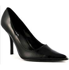 "FOXY-01 SHINY BLACK PAT 3.75"" Stiletto Heel Soft Upper shoes 6US=5AU LAST PAIR"
