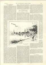 1894 nuevo puente para peatones en casa de detención para delincuentes Richmond PARIS