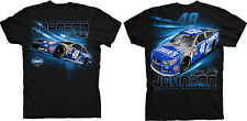 Jimmie Johnson Checkered Flag #48 Lowe's Grandstand Tee FREE SHIP!
