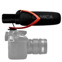 Comica CVM-V30PRO Super-Cardioid Condenser On-Camera Shotgun Microphone for DSLR