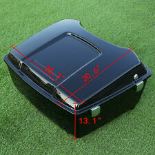 King Tour Pak Pack Trunk For Harley Touring Road Electra Street Glide 1997-2013