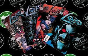 Lobo #1-4 + Poster (1990) DC Comics Keith Giffen Simon Bisley