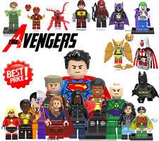 Lego DC Mini Figures Marvel Flash Deadpool Cyclops Wonder Woman Building Blocks